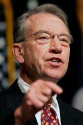Sen. Charles Grassley/AP photo