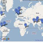 Map of Recent International Insider Trading Cases