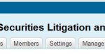 One More Reason to Join the Securities Litigation and Enforcement Group on LinkedIn