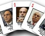 "Financial Crisis ""Most Wanted"" Playing Cards"