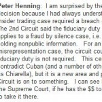 SEC v. Dorozhko: Second Circuit Dispenses With Fiduciary Duty Requirement in Hacker Insider Trading Case