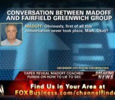 FOX Business Video: Madoff Recorded Offering Tips on How to Evade SEC