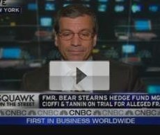 CNBC Video: Government Blowing Bear Stearns Case?