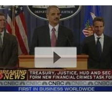 CNBC Video: Federal Financial Fraud Task Force Launches