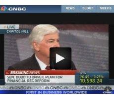 CNBC Video: Sen. Dodd Unveils Financial Regulation Reform Bill