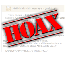 The Return of the Hoax Press Release