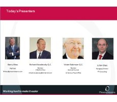 Archived Version and Materials for Mar. 30 Webcast: Avoiding Prosecution Under the UK Bribery Act-Playing Offense and Defense