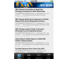 SEC Rolls Out First iPhone App