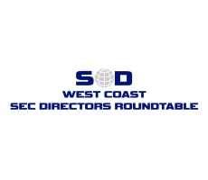 West Coast SEC Directors Roundtable: Materials and CLE Forms