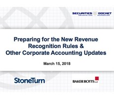 March 15 Webcast: Preparing for the New Revenue Recognition Rules & Other Corporate Accounting Updates