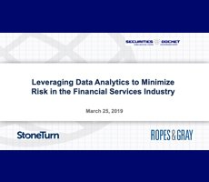 March 25 Webcast: Leveraging Data Analytics to Minimize Risk in the Financial Services Industry